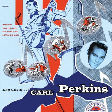 DANCE ALBUM OF CARL PERKINS Vinyl Record