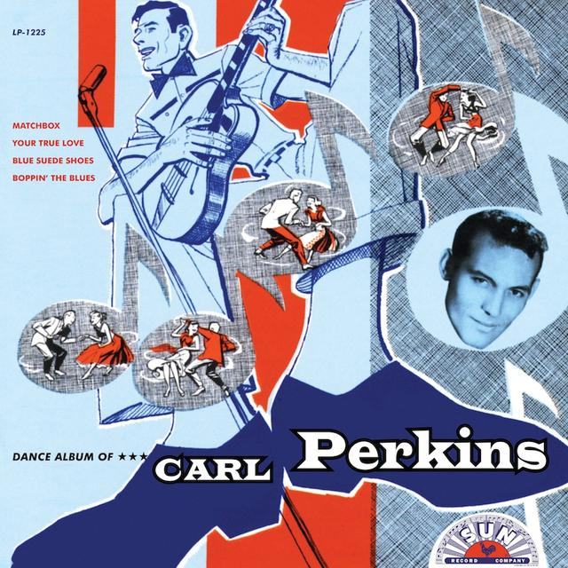 Carl Perkins DANCE ALBUM OF CAPL PERKINS Vinyl Record
