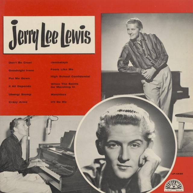 JERRY LEE LEWIS  (SLV) Vinyl Record - Colored Vinyl