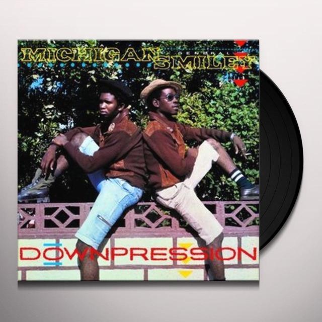 Papa Michigan & General Smiley DOWNPRESSION Vinyl Record