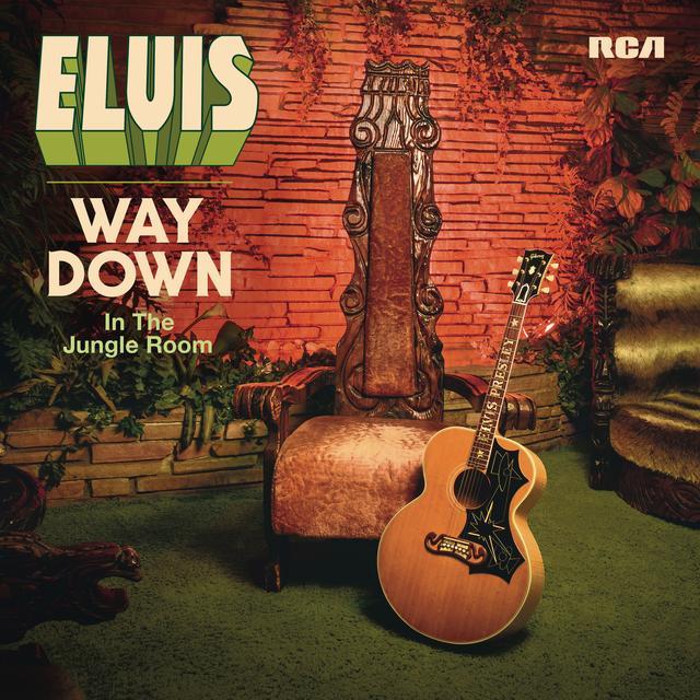 Elvis Presley WAY DOWN IN THE JUNGLE ROOM Vinyl Record