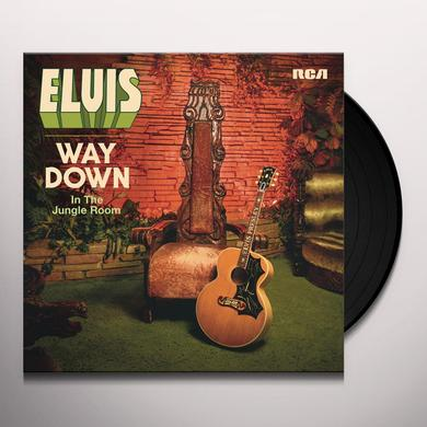 Elvis Presley WAY DOWN IN THE JUNGLE ROOM Vinyl Record