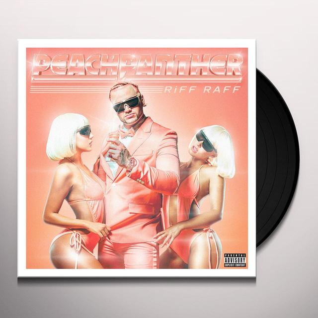 Riff Raff PEACH PANTHER Vinyl Record - Digital Download Included