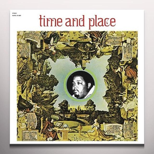 Lee Moses TIME & PLACE Vinyl Record - Gatefold Sleeve, Gold Vinyl, Red Vinyl, Remastered