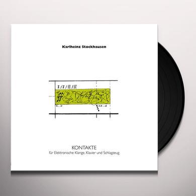 Karlheinz Stockhausen KONTAKTE Vinyl Record