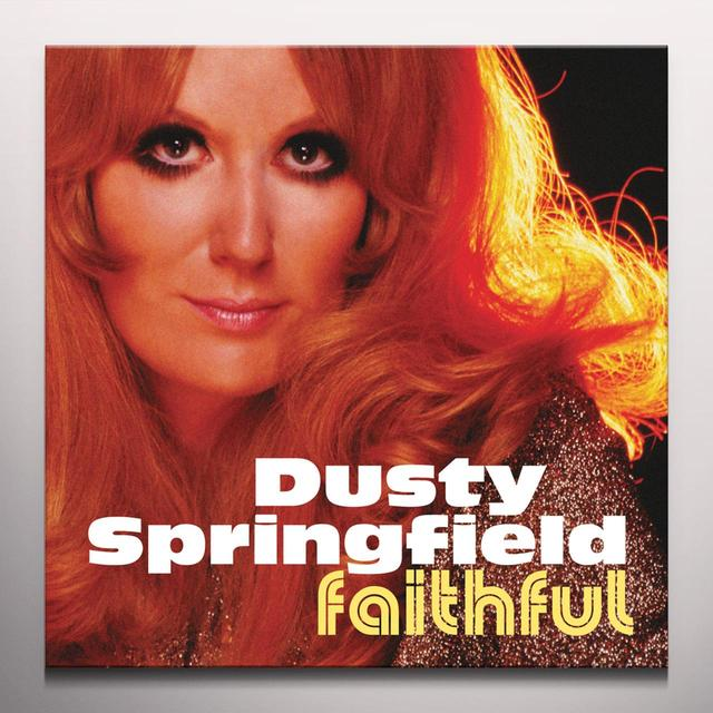 Dusty Springfield FAITHFUL Vinyl Record - Colored Vinyl, Limited Edition, Orange Vinyl