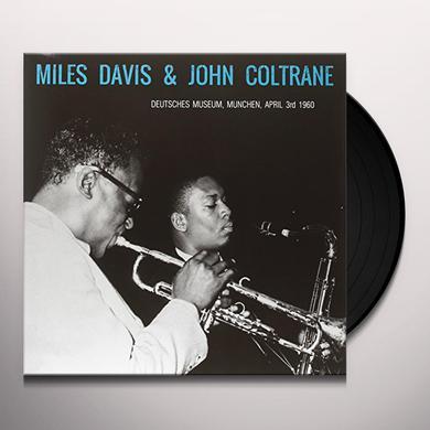 Miles Davis / John Coltrane DEUTSCHES MUSEUM MUNCHEN - APRIL 3RD 1960 Vinyl Record