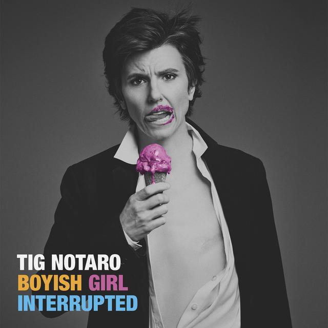 Tig Notaro BOYISH GIRL INTERRUPTED Vinyl Record