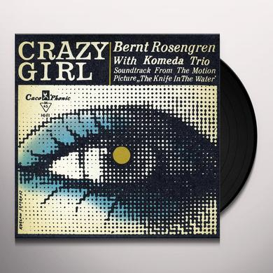 Krzysztof Komeda CRAZY GIRL: KNIFE IN THE WATER - O.S.T. Vinyl Record