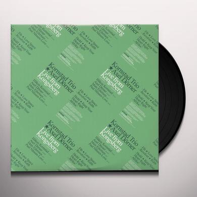 Kornstad Trio / Axel Dorner LIVE FROM KONGSBERG Vinyl Record