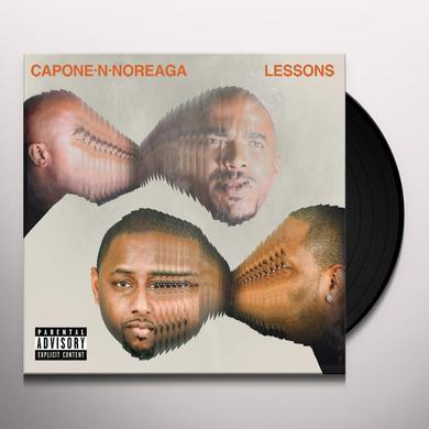 Capone-N-Noreaga LESSONS Vinyl Record