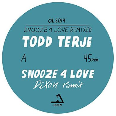 Todd Terje SNOOZE 4 LOVE (DIXON & LUKE ABBOTT REMIXES) Vinyl Record