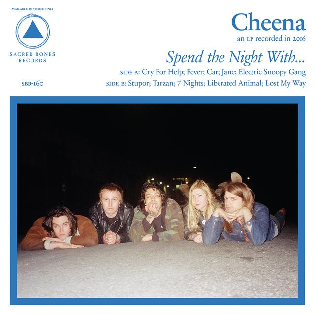 CHEENA SPEND THE NIGHT WITH Vinyl Record