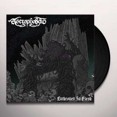 ASTROPHOBOS ENTHRONED IN FLESH Vinyl Record - Limited Edition