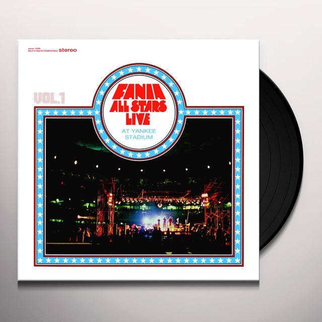 Fania All Stars LIVE AT YANKEE STADIUM: VOL 1  (FRA) Vinyl Record - 180 Gram Pressing