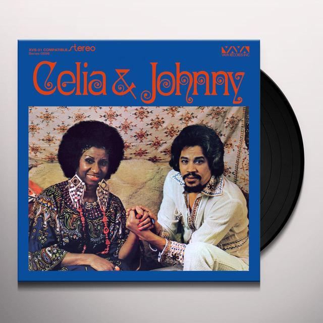 Celia Cruz / Johnny Pacheco CELIA & JOHNNY  (FRA) Vinyl Record - 180 Gram Pressing