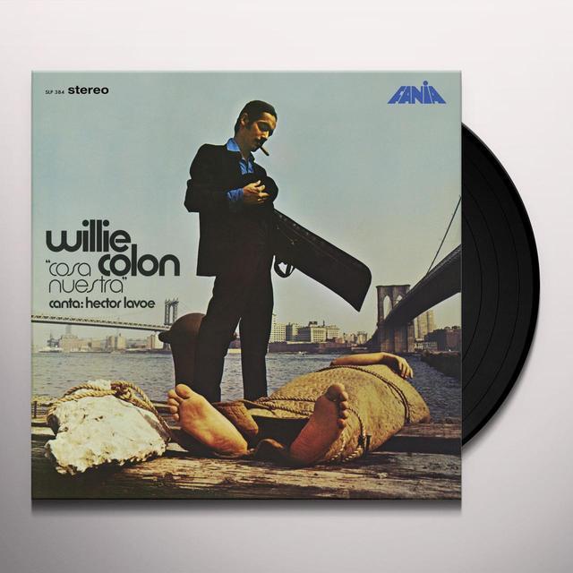 Willie Colon COSA NUESTRA  (FRA) Vinyl Record - 180 Gram Pressing