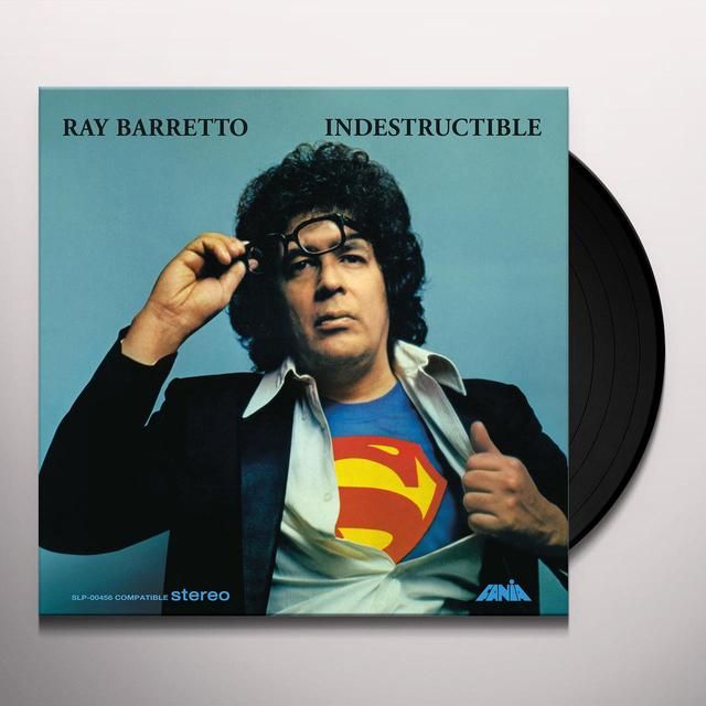 Ray Barretto INDESTRUCTIBLE  (FRA) Vinyl Record - 180 Gram Pressing