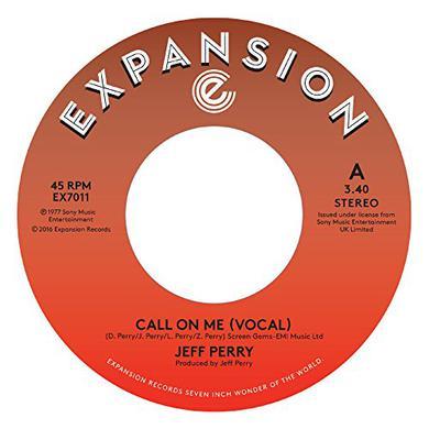 Jeff Perry CALL ME Vinyl Record