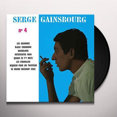 Serge Gainsbourg NO 4 Vinyl Record
