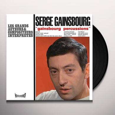 Serge Gainsbourg GAINSBOURG PERCUSSIONS Vinyl Record