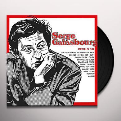 Serge Gainsbourg INITIALS B.B. Vinyl Record