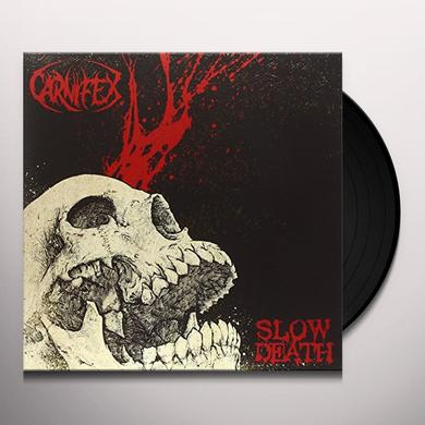 Carnifex SLOW DEATH Vinyl Record - UK Import