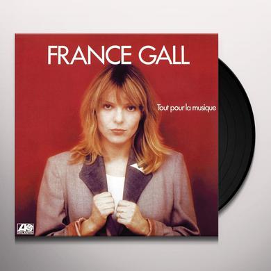 France Gall TOUT POUR LA MUSIQUE Vinyl Record