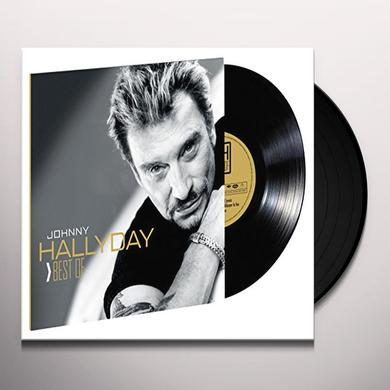 Johnny Hallyday BEST OF VINYLE  (FRA) Vinyl Record - Limited Edition