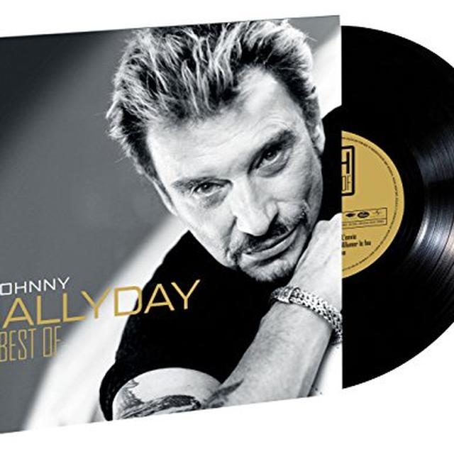 Johnny Hallyday BEST OF VINYLE  (FRA) Vinyl Record - Limited Edition