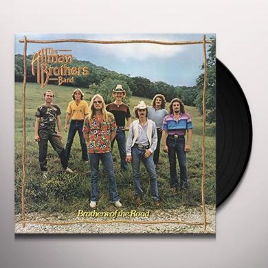 Allman brothers band BROTHERS OF THE ROAD Vinyl Record - Holland Import