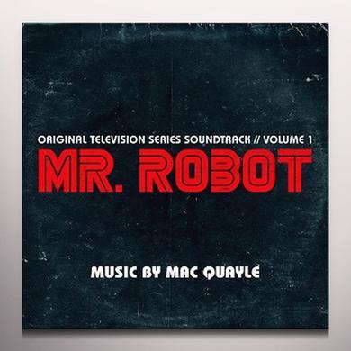 Mac Quayle MR. ROBOT SEASON 1 VOL. 1 / TV O.S.T. Vinyl Record - Gatefold Sleeve, White Vinyl