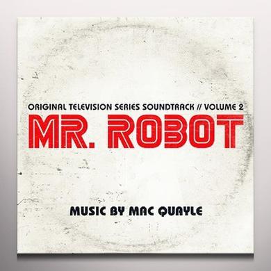 Mac Quayle MR. ROBOT SEASON 1 VOL. 2 / TV O.S.T. Vinyl Record - Gatefold Sleeve, White Vinyl