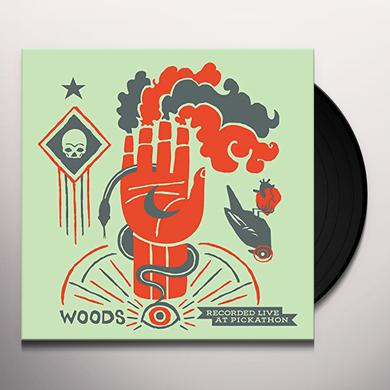 WOODS / MEN LIVE AT PICKATHON Vinyl Record