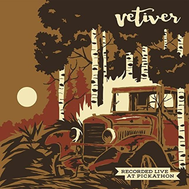 VETIVER / WOLF PEOPLE LIVE AT PICKATHON Vinyl Record - Black Vinyl, Limited Edition
