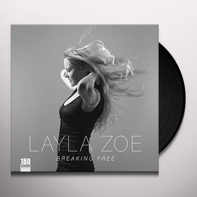 Layla Zoe BREAKING FREE Vinyl Record