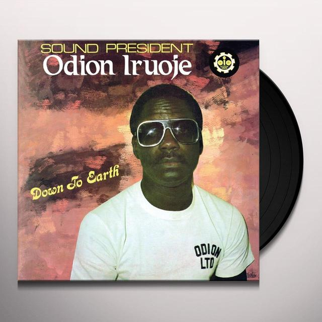 Odion Iruoje DOWN TO EARTH Vinyl Record - Limited Edition, 180 Gram Pressing