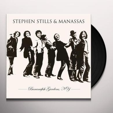 Stephen Stills & Manassas BANANAFISH GARDENS NY Vinyl Record