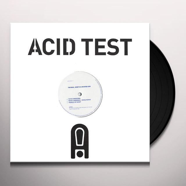 Tin Man / Jozef K / Winter Son ACID TEST 11 Vinyl Record