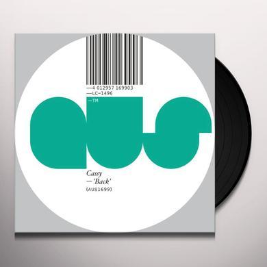 Cassy BACK Vinyl Record