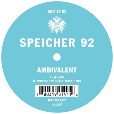 Ambivalent SPEICHER 92 Vinyl Record