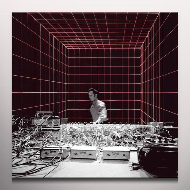 Steve Reich BERKELEY UNIVERSITY MUSEUM - NOVEMBER 7 1970 Vinyl Record - Red Vinyl