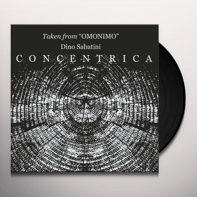 Dino Sabatini CONCENTRICA Vinyl Record