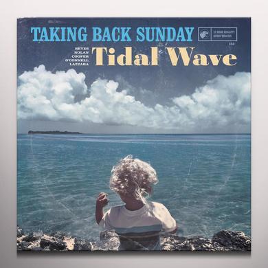 Taking Back Sunday TIDAL WAVE Vinyl Record - Blue Vinyl, Clear Vinyl, Gatefold Sleeve, Digital Download Included