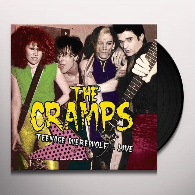 Cramps TEENAGE WEREWOLF... LIVE Vinyl Record