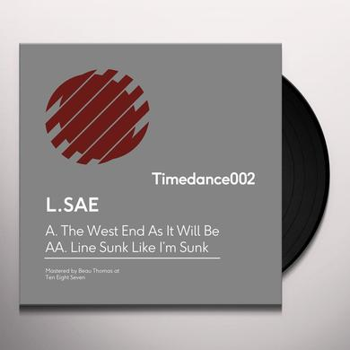 L. Sae WEST END AS IT WILL BE / LINE SUNK LIKE I'M SUNK Vinyl Record