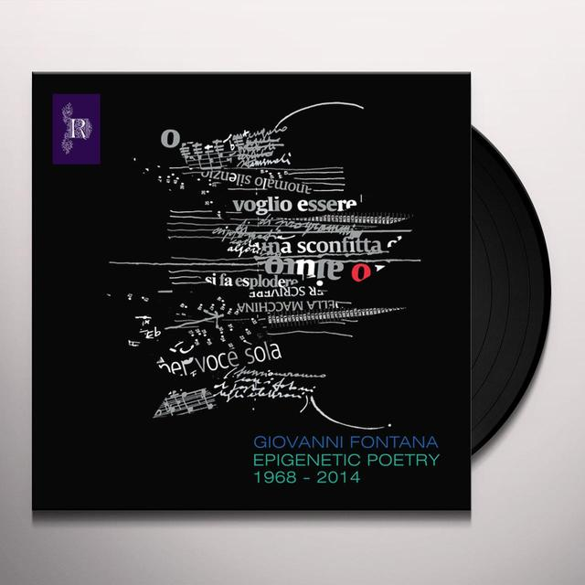 Giovanni Fontana EPIGENETIC POETRY Vinyl Record