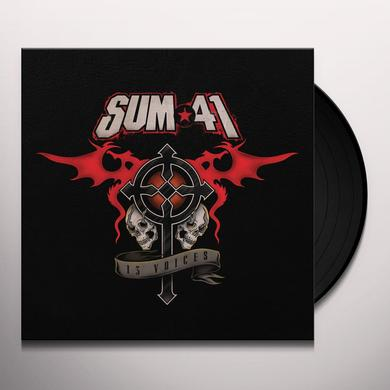 Sum 41 13 VOICES Vinyl Record - Black Vinyl, Digital Download Included