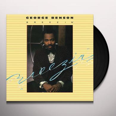 George Benson BREEZIN Vinyl Record - Canada Import