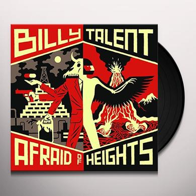 Billy Talent AFRAID OF HEIGHTS Vinyl Record - Canada Import